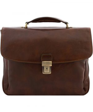 cartable cuir homme made in italy