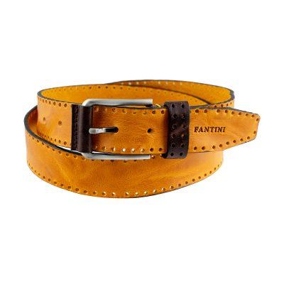 ceinture cuir homme artisanale