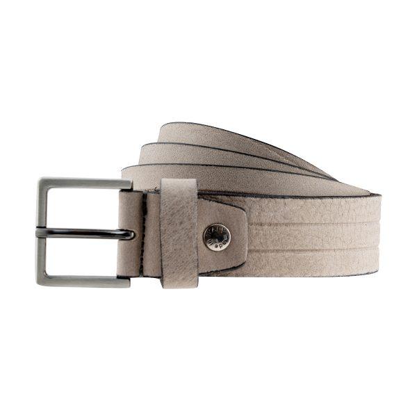 ceinture cuir fait main stripes