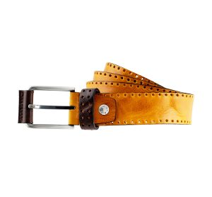 ceinture cuir femme artisanale