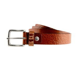 ceinture cuir naturel texas