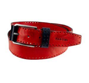 ceinture large rouge femme