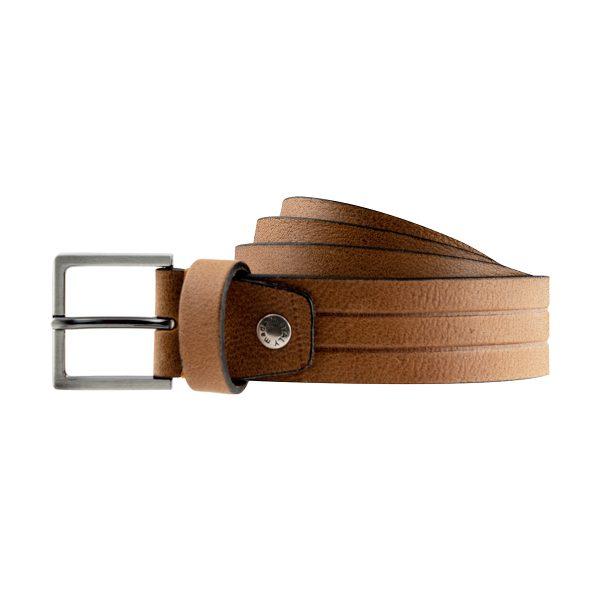 ceinture en cuir stripes