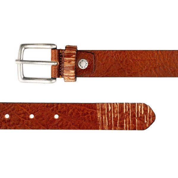 ceinture cuir naturel femme texas