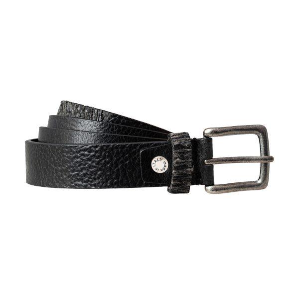 ceinture fine noir femme texas