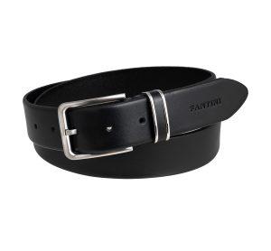 ceinture cuir vintage platino
