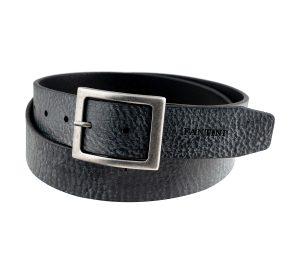 ceinture noire cuir fantini pelletteria