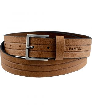 ceinture cuir stripes