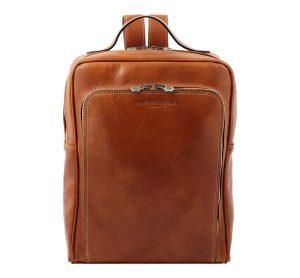 sac à dos cuir camel