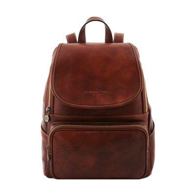 sac à dos homme cuir marron venezia