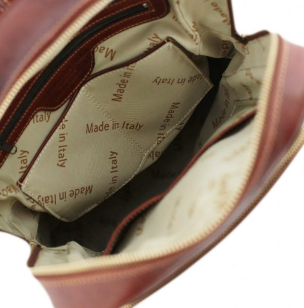 sac à dos cuir marron homme