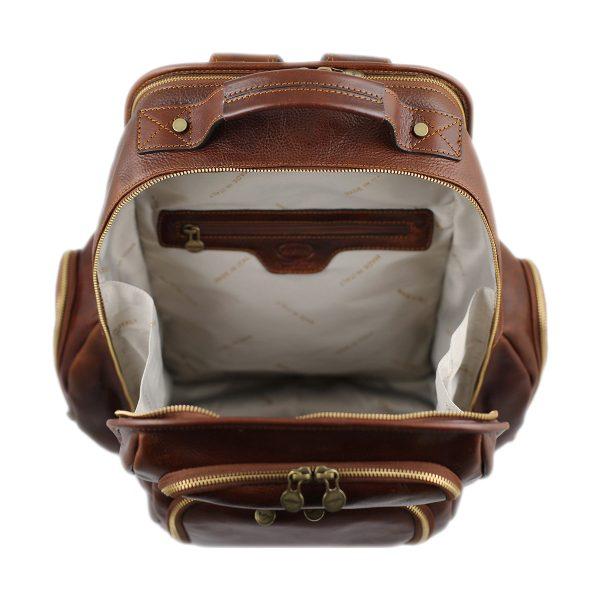 sac à dos cuir marron tokyo