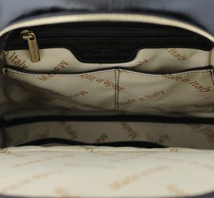 sac à dos cuir noir femme