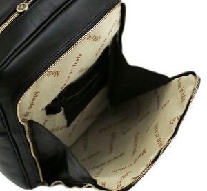 sac a dos cuir noir femme-tuscany