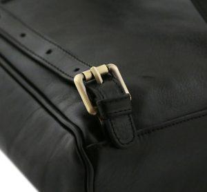 sac à dos cuir noir femme tuscany