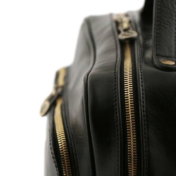 sac a dos cuir noir tuscany