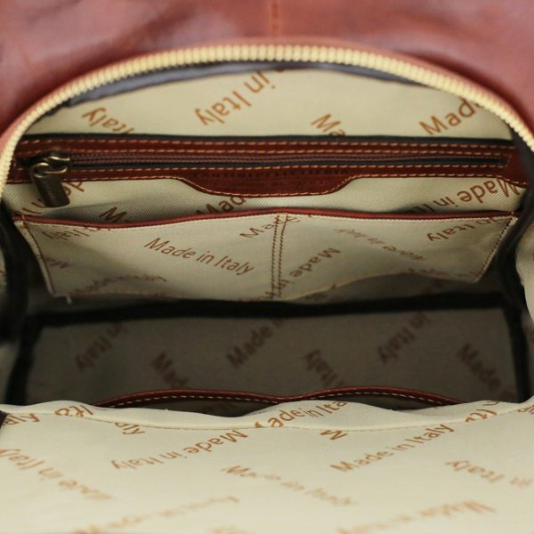 sac à dos femme cuir marron