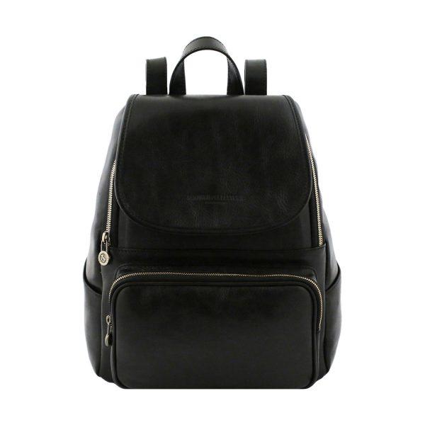 sac a dos femme cuir noir