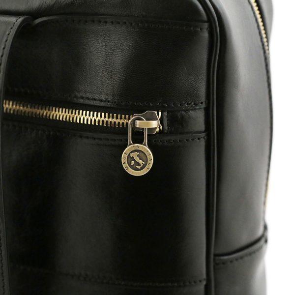 sac à dos cuir noir tuscany