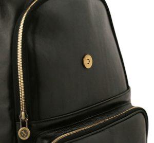 sac à dos femme cuir noir