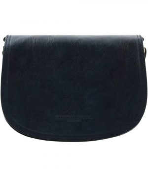 sac cuir bleu marine femme tolfa