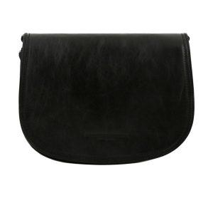 sac en cuir femme noir tolfa
