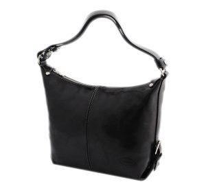 sac noir cuir lorainne