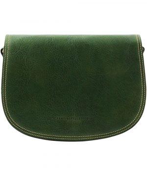 sac vert en cuir tolfa